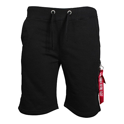 Alpha Industries X-Fit Cargo Short Schwarz S