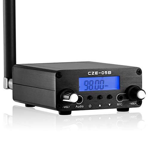 0.5W 76MHz~108MHz FM Transmitter Stereo Broadcast Station for Drive-in Church