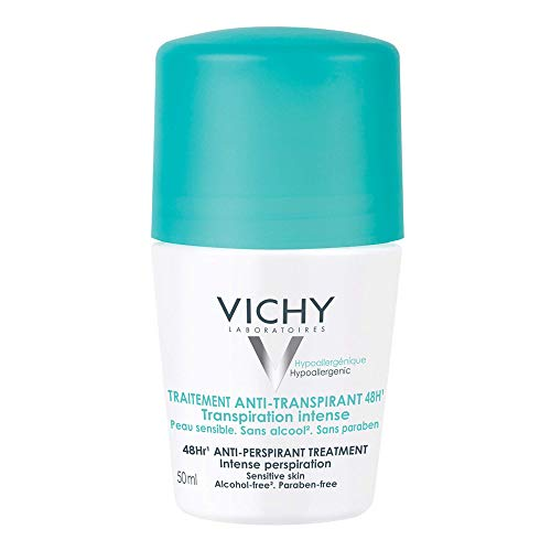 Desodorante 48H Roll on 50ml, Vichy, Branco