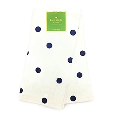 Kate Spade New York French Navy Polka Dot Kitchen Towel Set