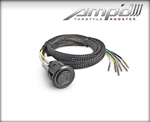 Superchips 48862 AMPd Throttle Booster w/Power Switch 6 Settings AMPd Throttle Booster