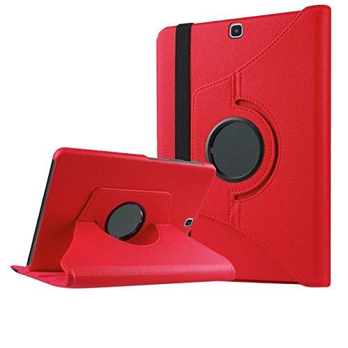 DETUOSI Funda para Samsung Galaxy Tab S2 9.7 Funda 360° Girar de PU Cuero Carcasa para SM T815