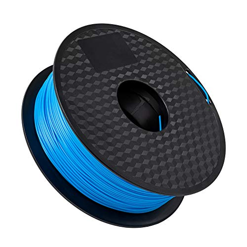 Sovol PLA 3D Printer Filament 1 kg(2.2 LBS) Blue Spool Printing Materials, Wiring Tightness, Dimensional Accuracy +/- 0.02 mm, 1.75 mm, Blue