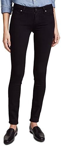 PAIGE Denim Women s Transcend Verdugo Ultra Skinny Jeans Black Shadow 25 product image