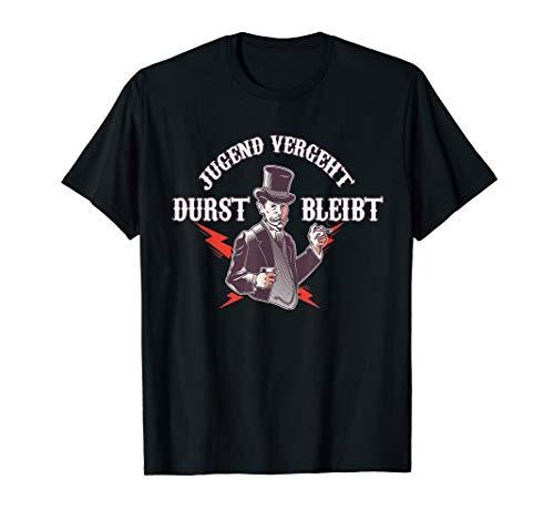 Jugend vergeht, Durst bleibt Geschenk Lustiger Spruch Party T-Shirt
