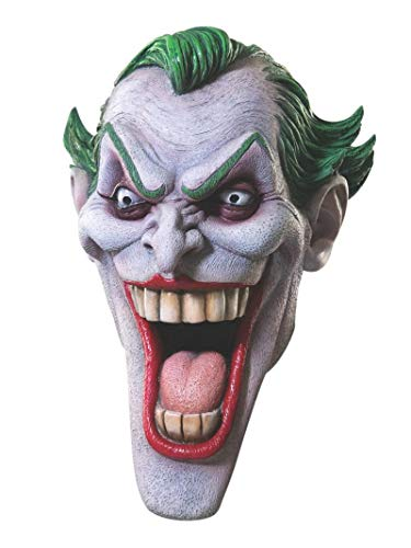 Rubie's Dc Heroes and Villains Collection Joker Latex Mask, Multicolored, One Size