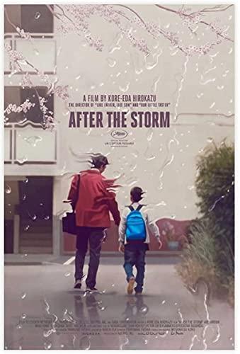 TANXM Lienzo Posters 30x50cm Sin Marco After The Storm, póster de película galardonado, decoración de Dormitorio, Deportes, Oficina, decoración de habitación, Regalo