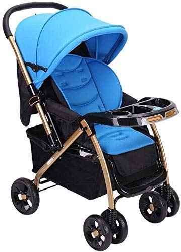 Fantastic Deal! Baby Stroller Baby Carriage Four Seasons Universal Can Sit Horizontal Umbrella Bidir...