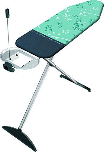 Vileda Park & Go Plus Bügelbrett, Bügeleisenablage mit integriertem Kabelhalter