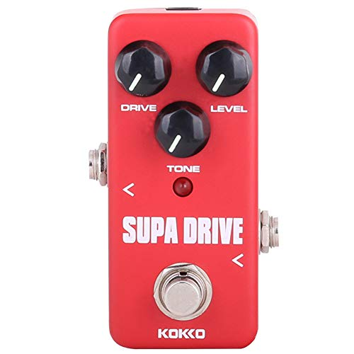 Absir KOKKO FOD5 Mini Supa Drive Electric Guitar Effect Pedal Warm and Clean Overdrive Effect Sound Processor