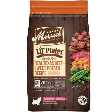 Merrick Lil Plates Grain Free dog food for small dogs