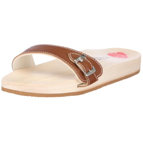 Berkemann 00100-400 Original Sandale, Unisex - Erwachsene Clogs & Pantoletten, Braun (braun 400), EU 42, (UK 8)
