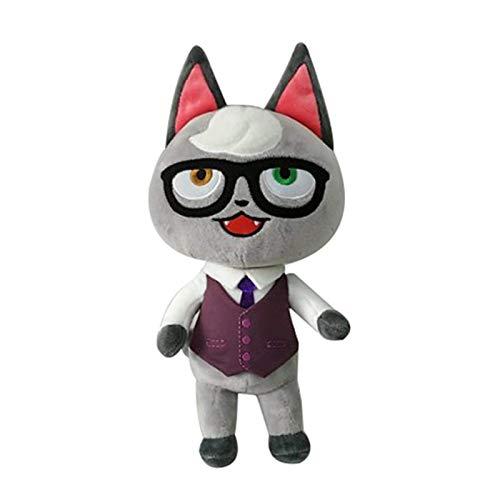 HEWE 30 cm Niedliche Tierkreuzung Plüschtier Cartoon Puppe Katze Plüschtier Kinder Geschenk Weiches Plüschspielzeug mit Kleidung