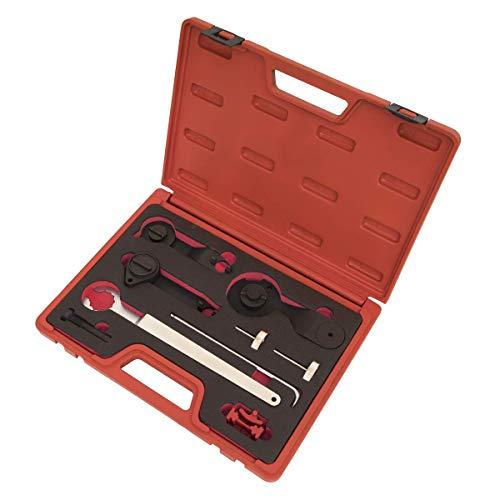 Sealey VSE5760 Kit de Herramientas de sincronización del Motor de Gasolina - VAG 1.0, 1.2, 1.4 TSi - transmisión por Correa