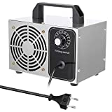 Gecheer 24G Generador de Ozono Portatil, Máquina Tabletas Purificador de Aire Ozonizador con Temporizador, Ozonizador...