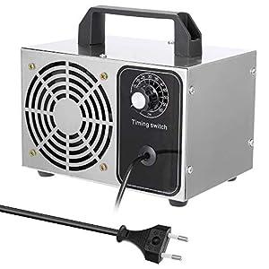 immagine di Generatore di ozono disinf-ettan-te 24g/h per casa,purificatore aria ozonizzatore per ambienti,st-erilizz-atore d'aria ozone