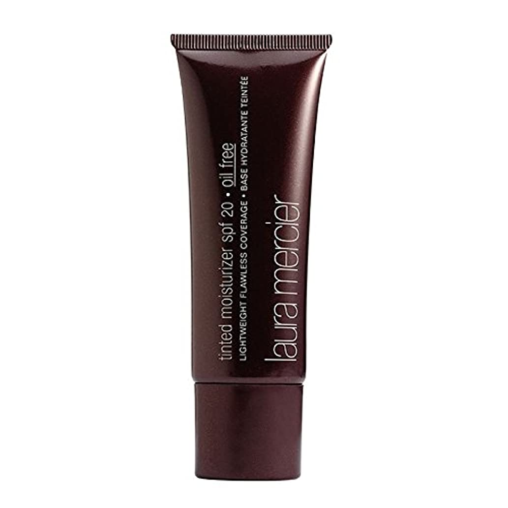 静けさ装備する才能Laura Mercier Oil Free Tinted Moisturizer SPF 20 - Almond 1.7oz (50ml)