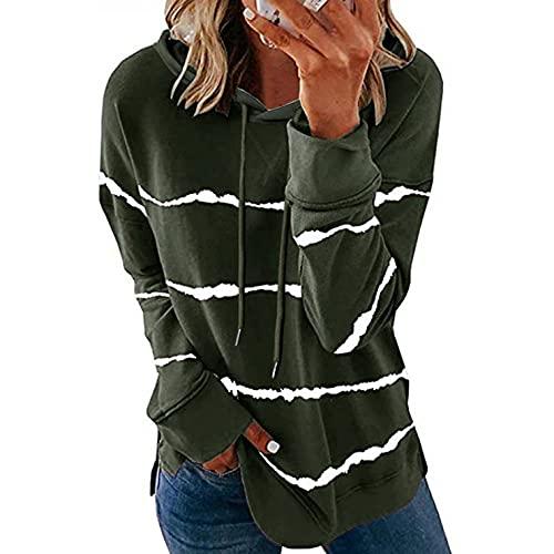 VISLINDU T Shirts for Women Short Sleeve Tops Zipper Summer Casual Comfy Blouses Ladies Stripe Pullover Shirts Tunics