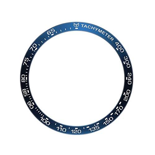 Soleiwei 2 Metall-Außenkantenabdeckung, Zifferblatt-Skala, Geschwindigkeits-Lünette, Ring für Hua-wei 2, 46 mm B1