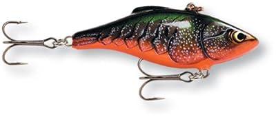 Rapala Rattlin 05 Fishing lure (Red Crawdad, Size- 2)