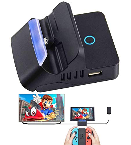 Colourfulstar Nintendo switch ドック スイッチ 充電スタンド ニンテンド ポータブルusbハブスタンド【HDM...