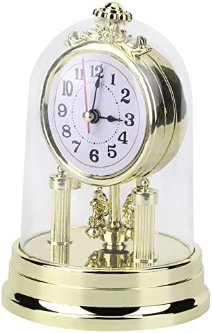 Klok decor Europese stijl klok antieke klok retro stille klok klok voor woonkamer slaapkamer studie indoorGolden
