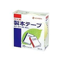 ニチバン 製本テープ パステルレモン 35ミリ幅 10m BK-3530/51327934
