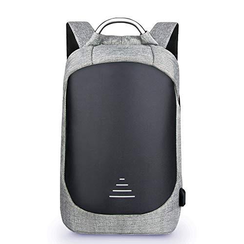 TEYUN Bolsa de ordenador de gran capacidad para viajes de negocios de 15,6 pulgadas (color: gris, tamaño: 15,6 pulgadas)