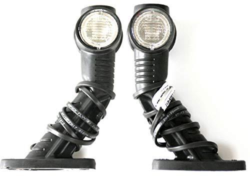 Aspöck LED Umrissleuchten Set/Begrenzungsleuchten mit jeweils 86cm Kabel