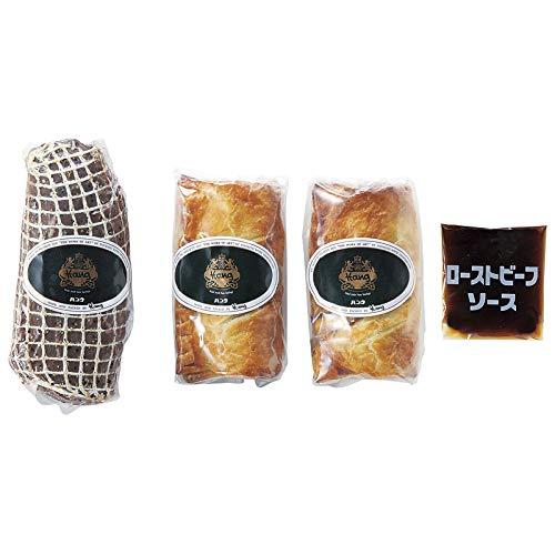 ≪内祝 お中元 お歳暮 父の日 母の日 敬老の日 プレゼント ギフト≫ 神戸ハングミートパイとローストビーフ ≪のし可≫