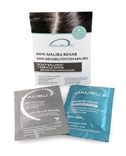 Malibu C Mini Malibu Rehab Scalp Wellness and Miracle Repair Set