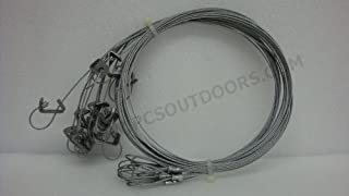 5 ft. 3/32 Coyote & Fox Snare with Sure Lock & Looped End 1 Dozen