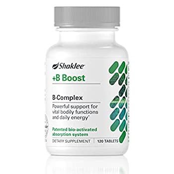 Shaklee - B-Complex - with Biotin Thiamin Folate and Niacin for Energy - 120 Tabs