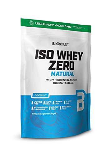 BioTechUSA Iso Whey Zero Natural, Strawberry, 521 g