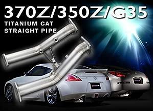 Tomei Expreme Titanium Cat Straight Pipe for 2002-07 Infiniti G35 VQ35DE
