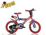 CICLI PUZONE Bici Dino Bikes 14 Spiderman 143 G-SA