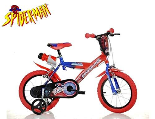CICLI kinderfiets Dino Bikes 14 Spiderman 143 G-SA