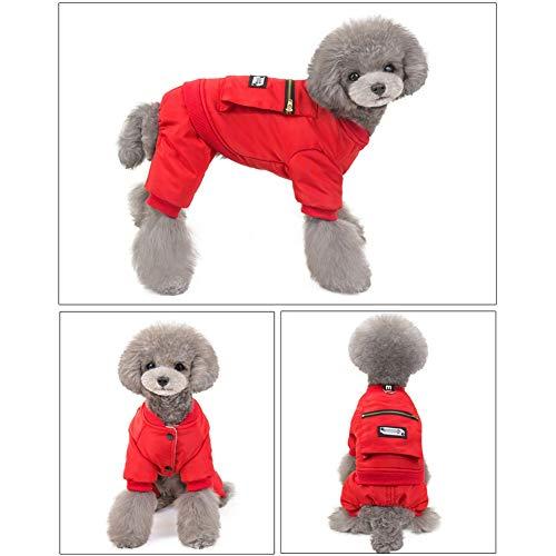 XPC-Huisdieren Kleding Huisdier Hond, Kleren, Fleece Basic Warm Trui, Katoen Jas Sweatshirt Jas Voor Kleine Hond Kat