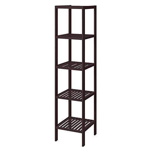 SONGMICS 100% Bamboo Bathroom Shelf