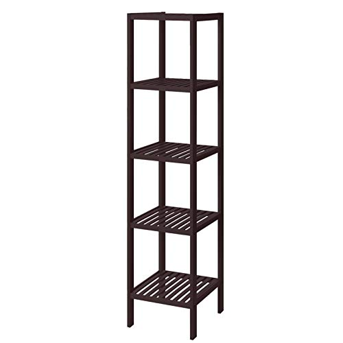 Nathan James Ellipse Modern Multipurpose Display Storage Unit Entryway Furniture, TV Stand, Walnut Brown