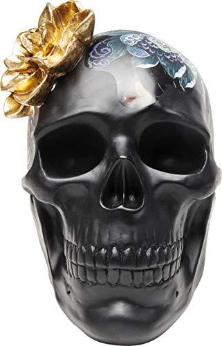 KARE 68029 Objeto Decorativo Flower Skull