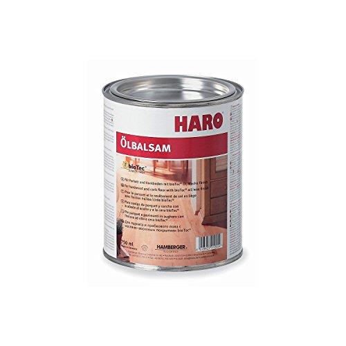 HARO Ölbalsam natur 750ml, Intensivpflege für beanspruchte Holzoberflächen