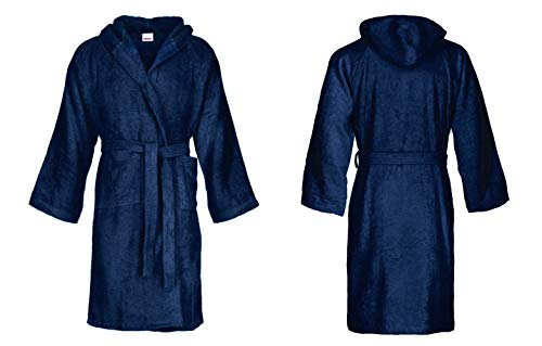 Bassetti: Albornoz con capucha para hombre