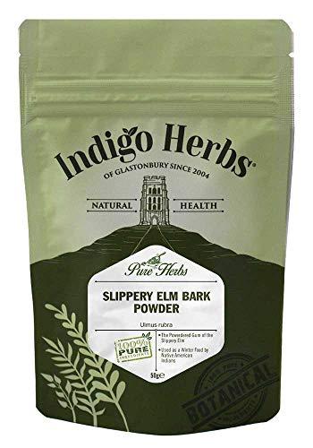Indigo Herbs Ulmenrinde Pulver 50g - Slippery Elm
