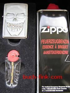 Zippo Briquet Smiley Skull - Cadeau