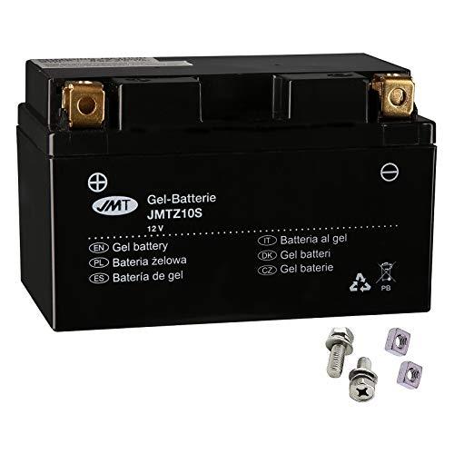 Batería de gel JMT YTZ10S MT-09 850 TR A Tracer ABS 2015-2017.