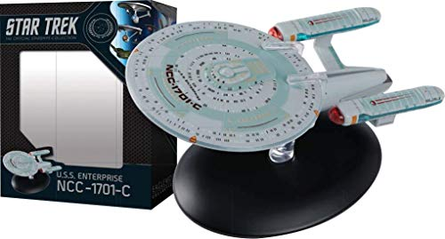 Star Trek The Official Starships Collection #10: USS Enterprise NCC-1701C Ship...