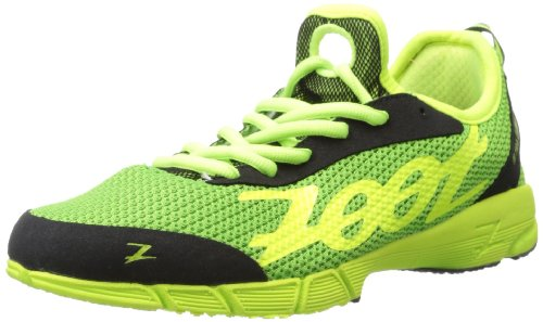 Zoot Women's Ultra Kiawe 2.0 Running Shoe,Green Flash/Safety Yellow/Black,8.5 M US