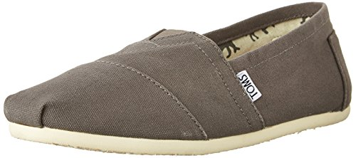 TOMS Men's Classic Canvas Slip-On, Ash - 10.5 D(M) US