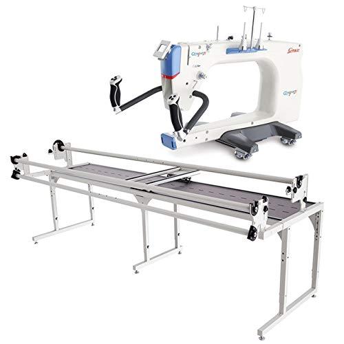 Grace Q'nique 21 long arm quilting machine with Continuum Frame